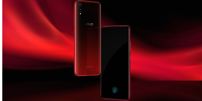 Vivo V11 Pro Supernova Red Colour Variant Available at Comet Busters