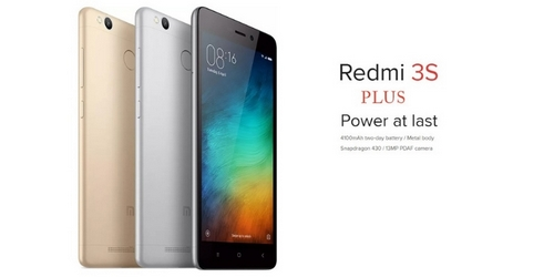 Xiaomi's First Offline Retail Smartphone In India - Xiaomi Redmi 3S+.