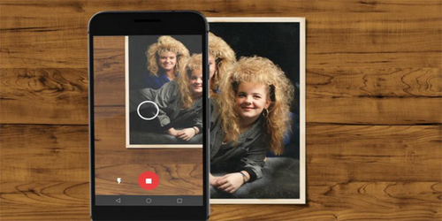 Make Your Old Memories Last Forever With Google PhotoScan App.