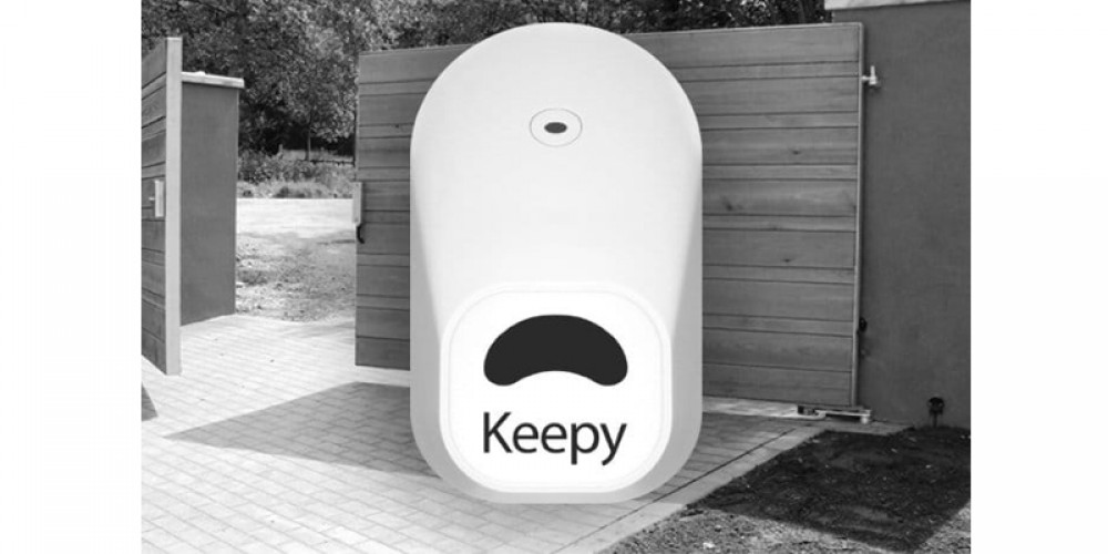 Go Completely Key less With The New Keepy Smartphone Controlled Keyless Security System For Door And Gates