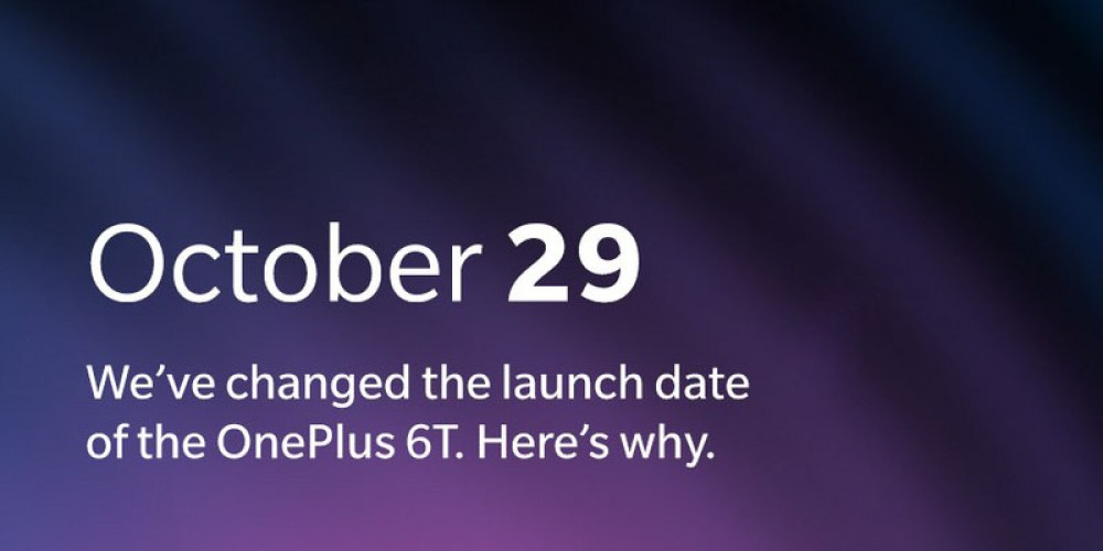 OnePlus 6T Reschedules Global Launch Date To Avoid Clashing With Apple Event