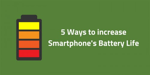 5 Tips for maximizing battery life on your smartphone