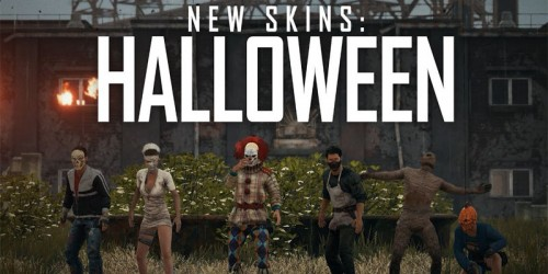 PUBG Xbox One Update 2 Brings Training Mode, Halloween Skins, and More