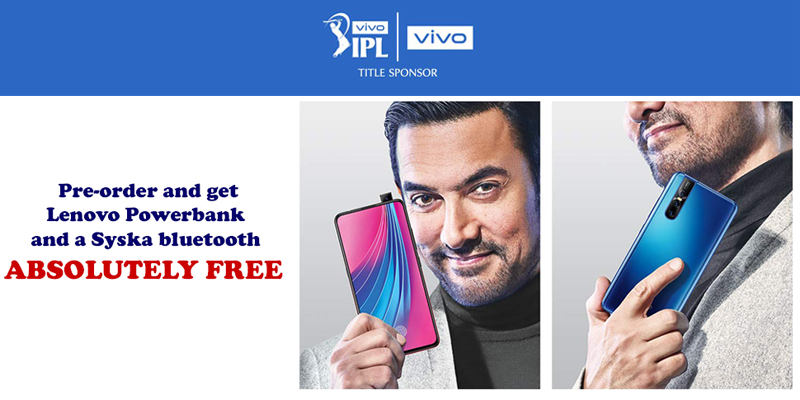 Pre-Book your Vivo 15 Pro, and enjoy perks up to Rs. 3000