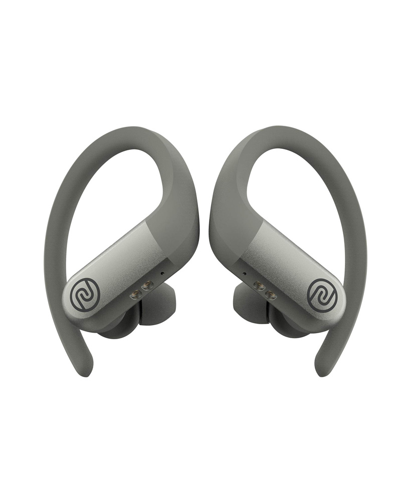 Noise Shots Rush True Bluetooth Wireless Earbuds with Low Latency Gaming Mode & 3 Equaliser Sound Presets (Quick Silver)