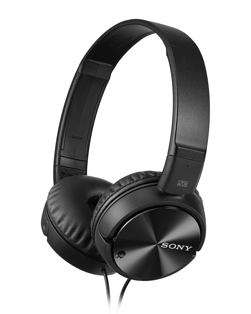 Sony MDR-ZX110NC   Wired NC Headphones   Black  