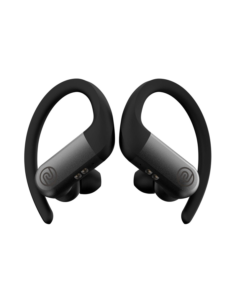 Noise Shots Rush True Bluetooth Wireless Earbuds with Low Latency Gaming Mode & 3 Equaliser Sound Presets (Charcoal Grey)