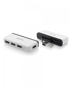 Belkin USB 2.0 4 Port | Hi-Speed Travel Hub |