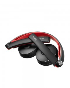 Sony MDR-S70AP/B Stereo Headphone | Black/Red |