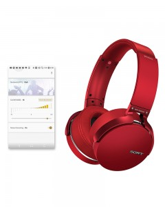 Sony MDR-XB950B1 | Wireless Headphones | Red |