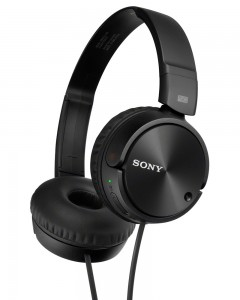 Sony MDR-ZX110NC | Wired NC Headphones | Black |