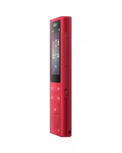 Sony NW-E394 Walkman | 8GB | Music Player | Red |