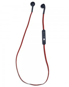 iBall MusiFlow BT40 | Headset With Mic | Black/Red