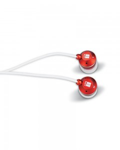 iBall Spirit 251 | Earphones With Mic | Red