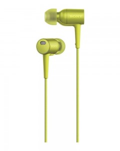 Sony MDR-EX750NA Earphones | Mic | Lime Yellow