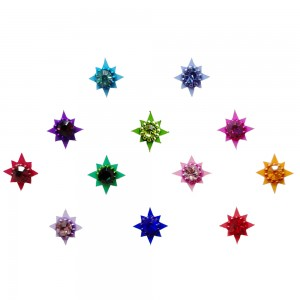 Comet Busters Colorful Bindis With Stone (BIN1121)