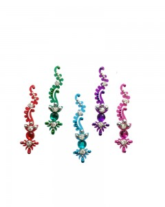 Comet Busters Multicolored Bridal Bindi