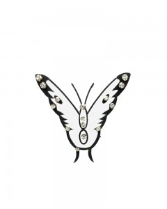 Comet Busters Black Butterfly Temporary Body Tattoo Skin Jewellery