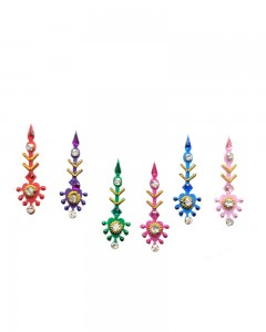 Comet Busters Multi color Traditional Bindi