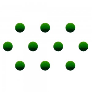 Comet Busters Green Shaded Ombre Bindis (5mm) (BIN1261)