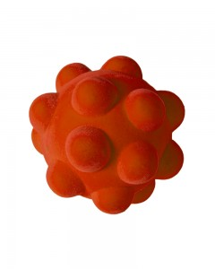 Rubbabu - Orange Bumpy Ball (Large)