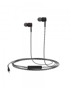 Portronics Conch Gama in-Ear Wired Earphone (Black)