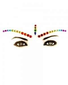Comet Busters Body Art Stickers Face Eye Jewels