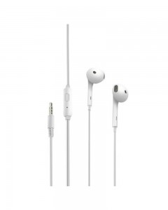 Portronics Conch Beta in-Ear Wired Earphone (White)