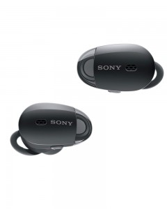 Sony WF-1000X Premium Noise Cancelling True Wireless Headphones (Black)