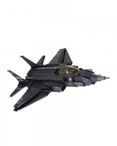 Sluban Building Block Set Lightning Fighter Aircraft - 252 Pieces, Multi Colour