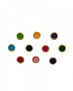 Comet Busters Multicolor Round Bindi