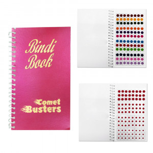 Comet Busters The Bindi Book - 960 bindis (Multisized and Multicolored Bindis)