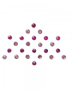 Comet Busters Crystal Collection Diamond Pink Bindi