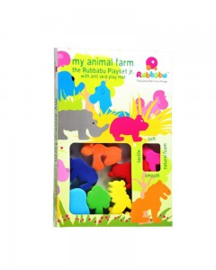 Rubbabu - My Animal Farm Play Set