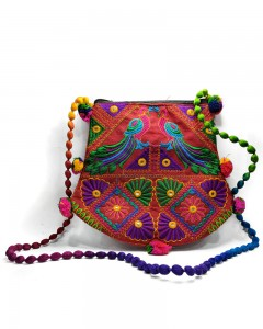 Comet Busters Handcrafted Ethnic Rajasthani Jhumka Bag for Women