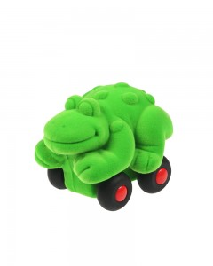 Rubbabu Aniwheel Frog  Small (Green)