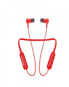 Portronics Harmonics 208 POR-933 Bluetooth Stereo Wireless Headset (Red)