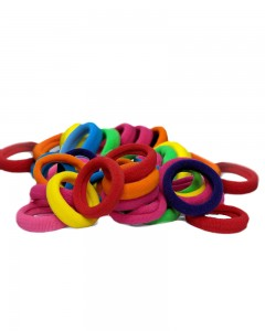 Comet Busters Elastic Cotton Rubber Hair Bands For Women
