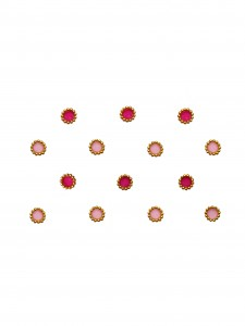 Comet Busters Traditional Round Pink Bindi