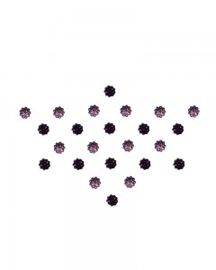Comet Busters Diamond Collection Small Stone Purple Bindi