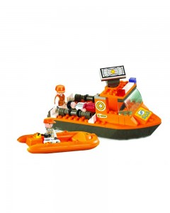Sluban First Aid Boat, Multi Colour