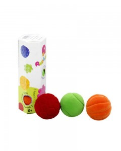 Rubbabu - 3 Rubbabu Bouncy Balls