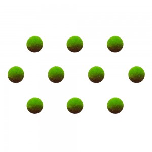 Comet Busters Green Brown Shaded Ombre Bindis (5mm) (BIN1257)