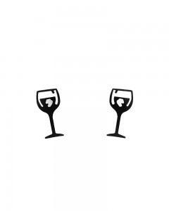 Comet Busters Temporary Couple Tattoo - Wine Glass (Set of 2) - Cute Temporary Tattoos Stick On
