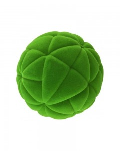 Rubbabu - Green Fashion 2 Ball (Large)