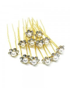 Comet Busters Long Bridal Wedding Hair Pin (Set of 12 Pieces)