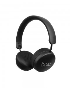 Boat Rockerz 440 Wireless Bluetooth Headset with in-Built Mic (Black)