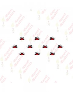 Comet Busters Traditional Red Bindis (BIN1051)