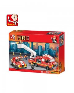 Sluban Plastic Special Fire Brigade, Multi Colour