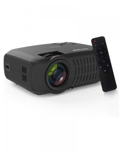 Portronics BEEM 200, A 200 Lumen Bright Full HD Multimedia LCD Projector (Black)